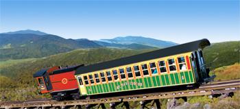 Mount Washington Cog Railway: Climbing to the Clouds