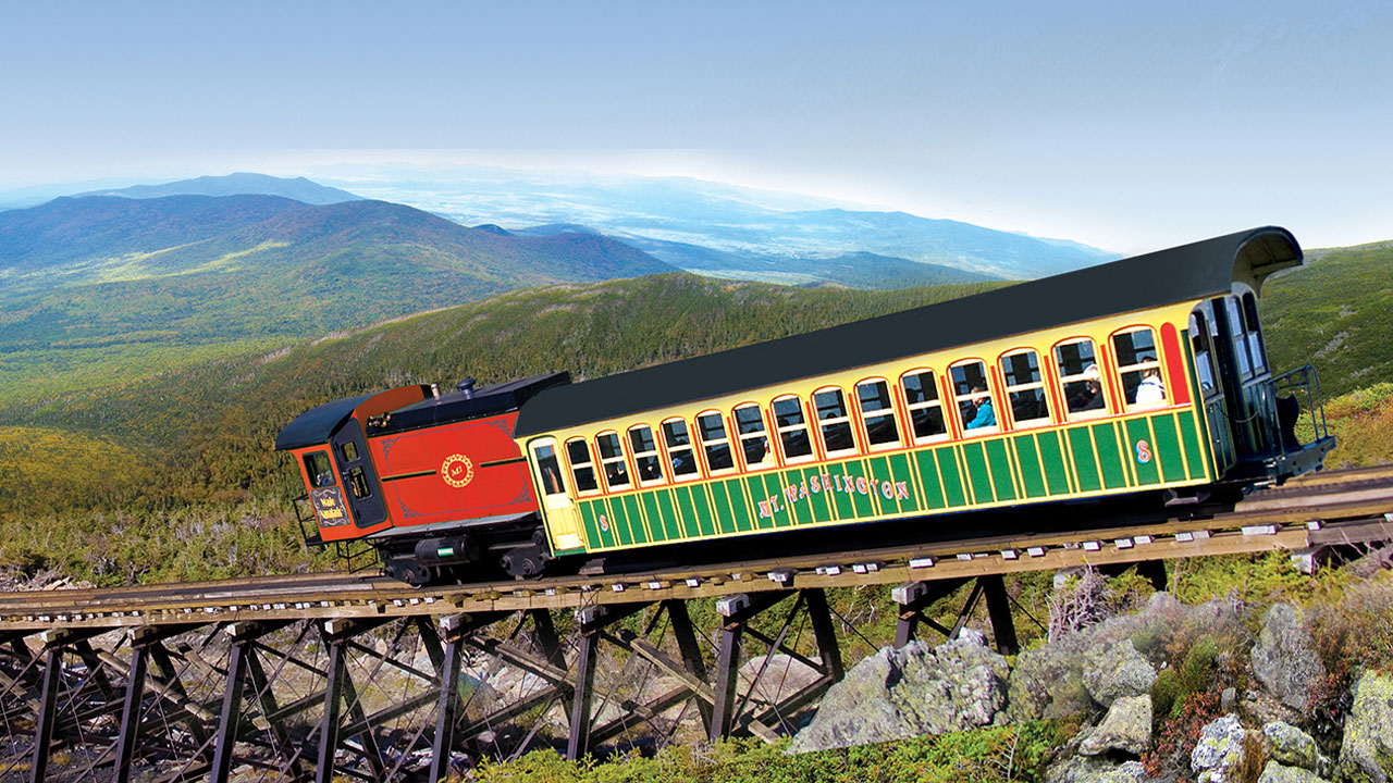 Mt. Washington Cog Railway: Climbing to the Clouds