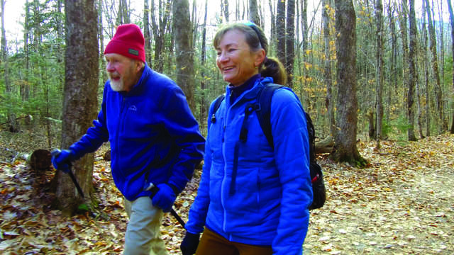 local woman blazes trails and sets hiking records