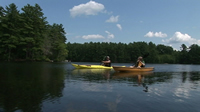 Kayaking the Pawtuckaway
